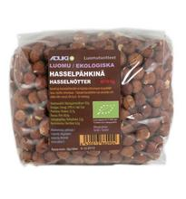 Hasselnötter eko 1 kg Hasselpähkinä luomu