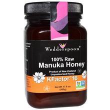 Wedderspoon Manuka-honung KFactor™16 500 g/Manuka-hunaja