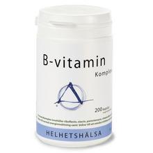 Helhetshälsa B-vitamin 200 kapsl/B-vitamiinivalmiste