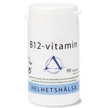 Helhetshälsa B12 90 kapsl./B12 vitamiini 90 kapselia