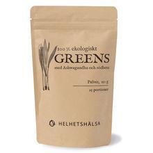 Greens EKO med Ashwaganda 150 g/Greens EKO 150 gr. sis. Ashwaganda